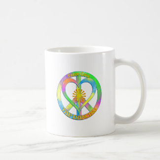 Peace Love Tap Dancing Coffee Mug