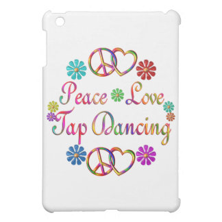 PEACE LOVE TAP DANCING CASE FOR THE iPad MINI