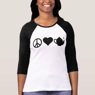 Peace Love Tea Party Tees