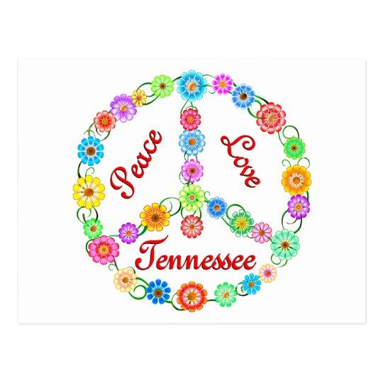 Peace Love Tennessee Postcard