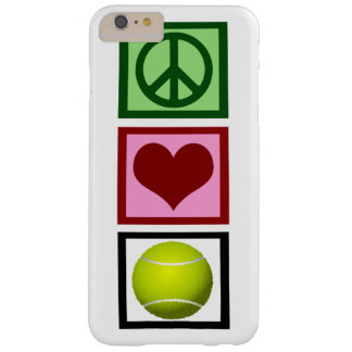 Peace Love Tennis Barely There iPhone 6 Plus Case