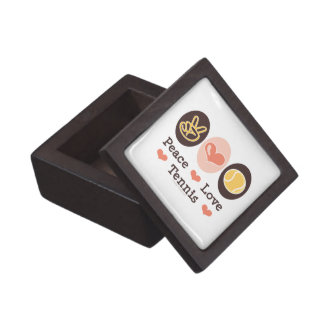 Peace Love Tennis Gift Box