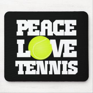 Peace, Love, Tennis Mouse Pad