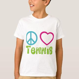 Peace Love Tennis T-Shirt