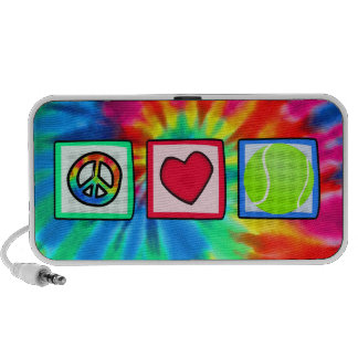 Peace, Love, Tennis Travel Speaker