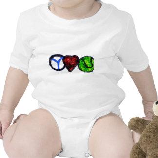 Peace Love Tennis T Shirts