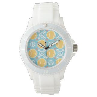 Peace Love Tennis Wristwatch