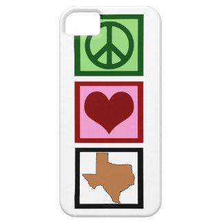 Peace Love Texas iPhone SE/5/5s Case