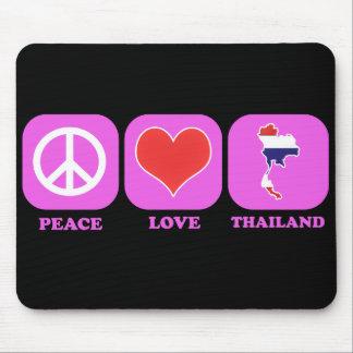 Peace Love Thailand Mouse Pad