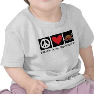Peace, Love, Thanksgiving Infant/Baby T-Shirt