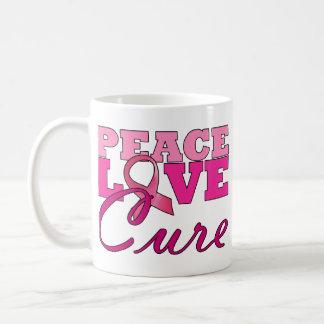 Peace Love The Cure Mug