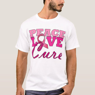 Peace, Love & The Cure T-Shirt