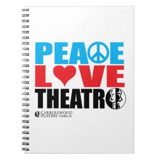Peace Love Theatre Note Book
