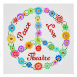 Peace Love Theatre Posters