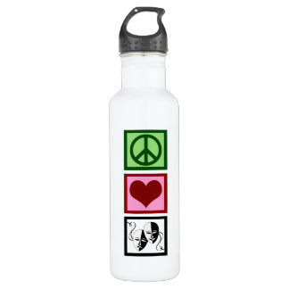 Peace Love Theatre Stainless Steel Water Bottle