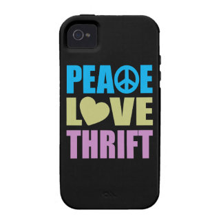 Peace Love Thrift Case-Mate iPhone 4 Case