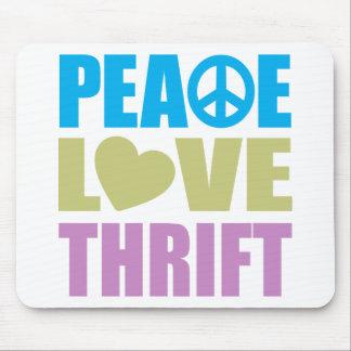 Peace Love Thrift Mousepads