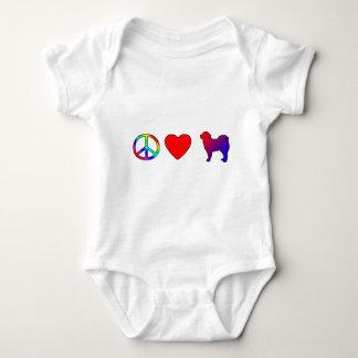 Peace Love Tibetan Mastiffs Baby Creeper