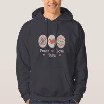 Peace Love Tofu Hooded Sweatshirt