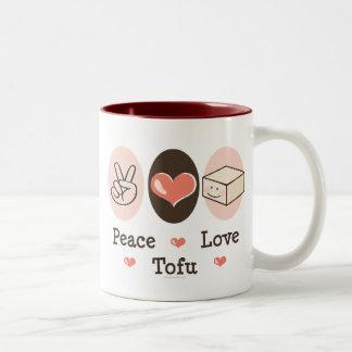 Peace Love Tofu Mug