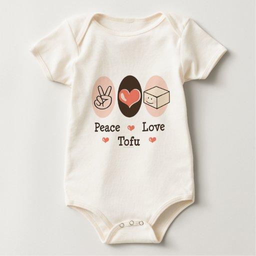 Peace Love Tofu Organic Infant Creeper