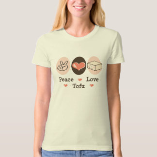 Peace Love Tofu Organic T-shirt