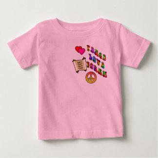 Peace Love Torah 2-Sided Infant T-Shirts