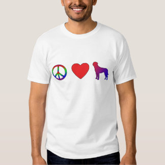 Peace Love Tosa Inus T-Shirt
