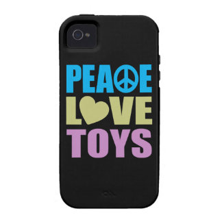 Peace Love Toys iPhone 4/4S Cases