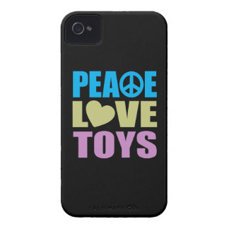 Peace Love Toys iPhone 4 Case-Mate Cases