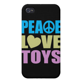 Peace Love Toys iPhone 4 Cover