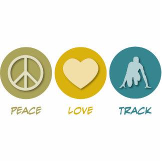 Peace Love Track Photo Cutout
