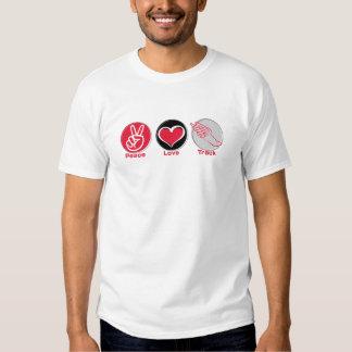 Peace Love Track T-Shirt