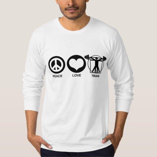 Peace Love Train T-Shirt