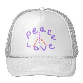 Peace love tranquility respect patience Hat