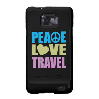 Peace Love Travel Samsung Galaxy SII Case