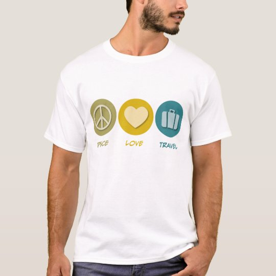 Peace Love Travel T-Shirt