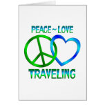 Peace Love TRAVELING Card