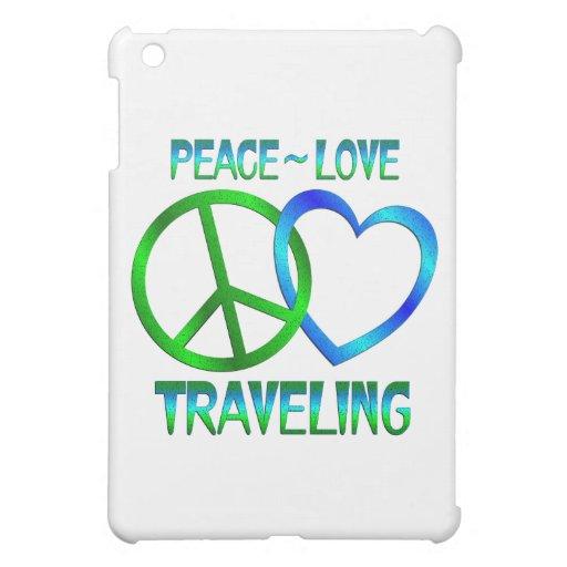Peace Love TRAVELING iPad Mini Case