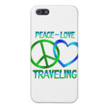 Peace Love TRAVELING iPhone 5 Covers