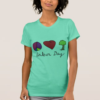 Peace Love & Trees - Arbor Day T-Shirt