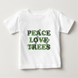 Peace Love Trees Baby T-shirt