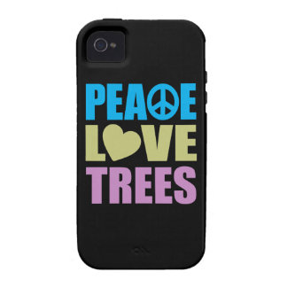 Peace Love Trees Case-Mate iPhone 4 Cover