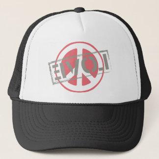 Peace Love Trucker Hat
