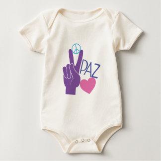 Peace Love Baby Creeper