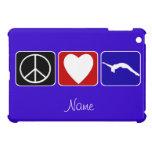 Peace Love Tumble gymnast ipad Mini Case