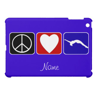 Peace Love Tumble gymnast ipad Mini Case