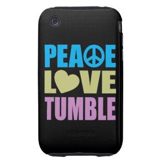 Peace Love Tumble iPhone 3 Tough Cover