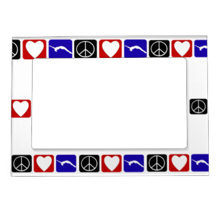Peace Love Tumble Magnetic Frame