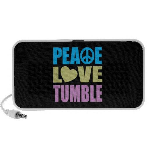 Peace Love Tumble Mini Speaker